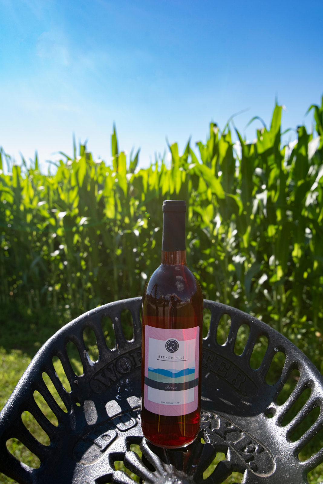 Ricker Hill Rose wine