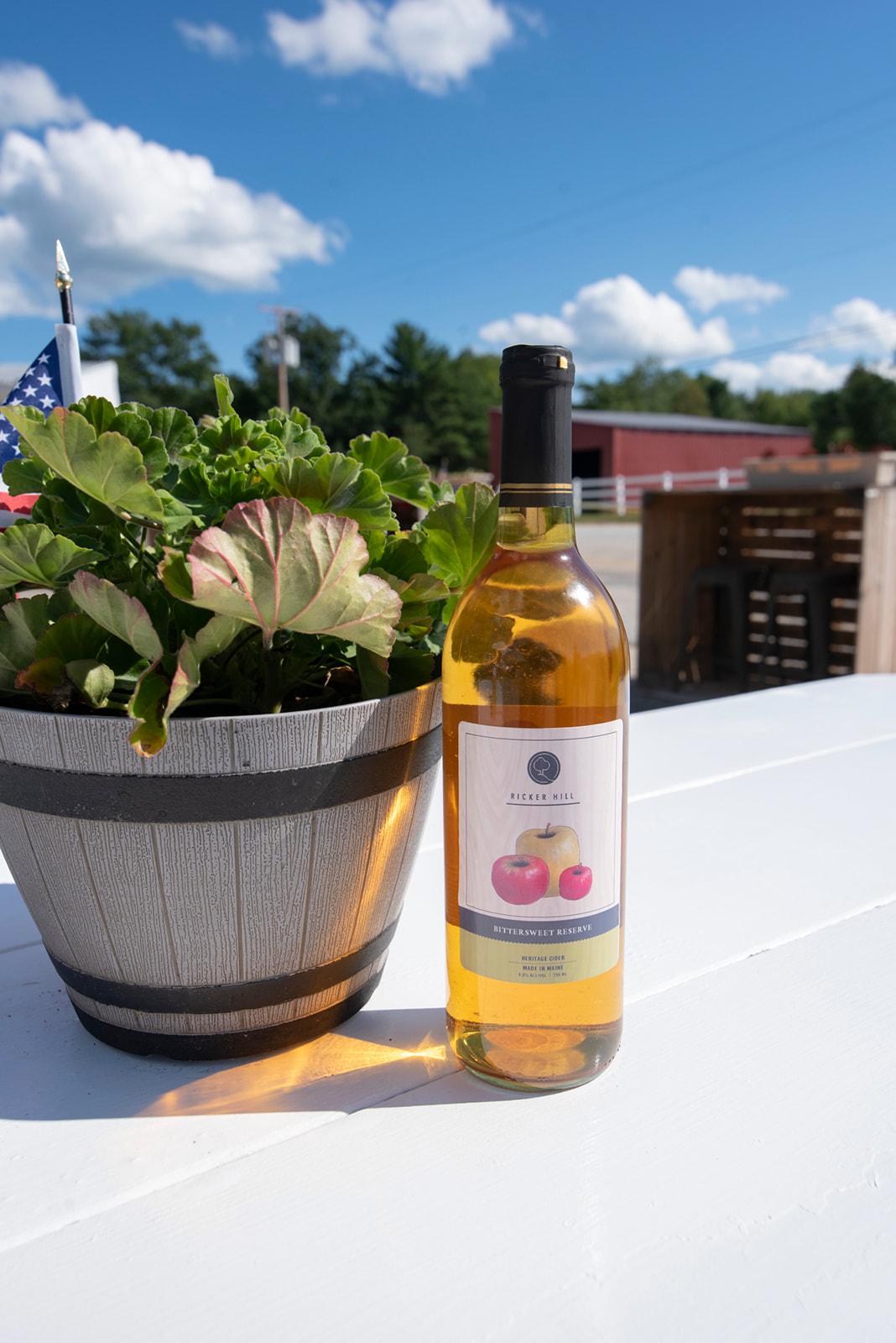 Ricker Hill Bittersweet Reserve wine
