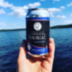 Ricker Hill Mainiac Blueberry Hard Cider