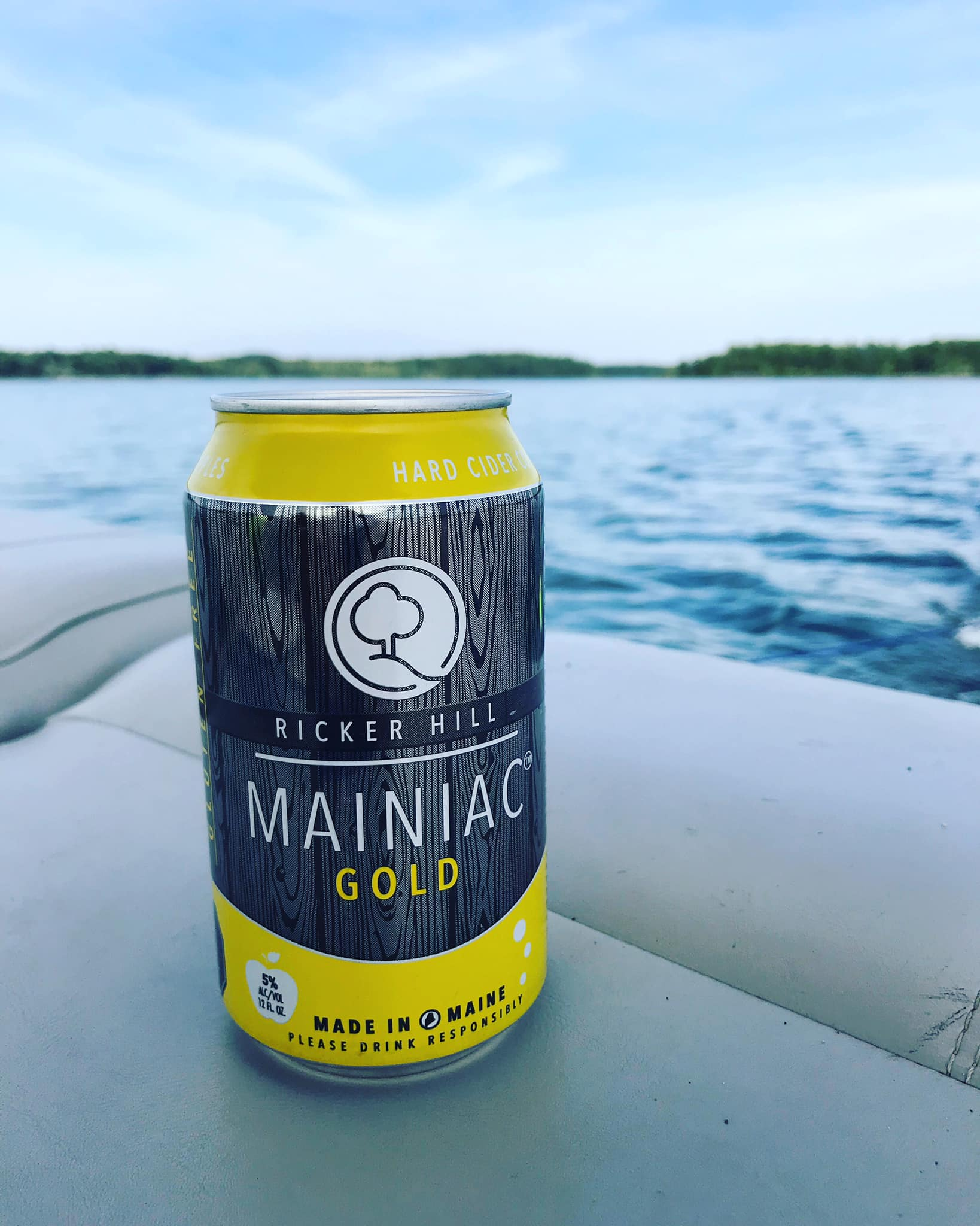 Ricker Hill Mainiac Gold Hard Cider