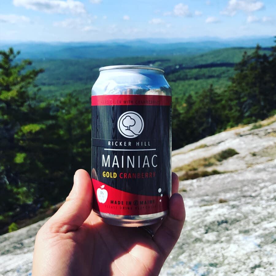 Ricker Hill Mainiac Gold Cranberry Hard Cider