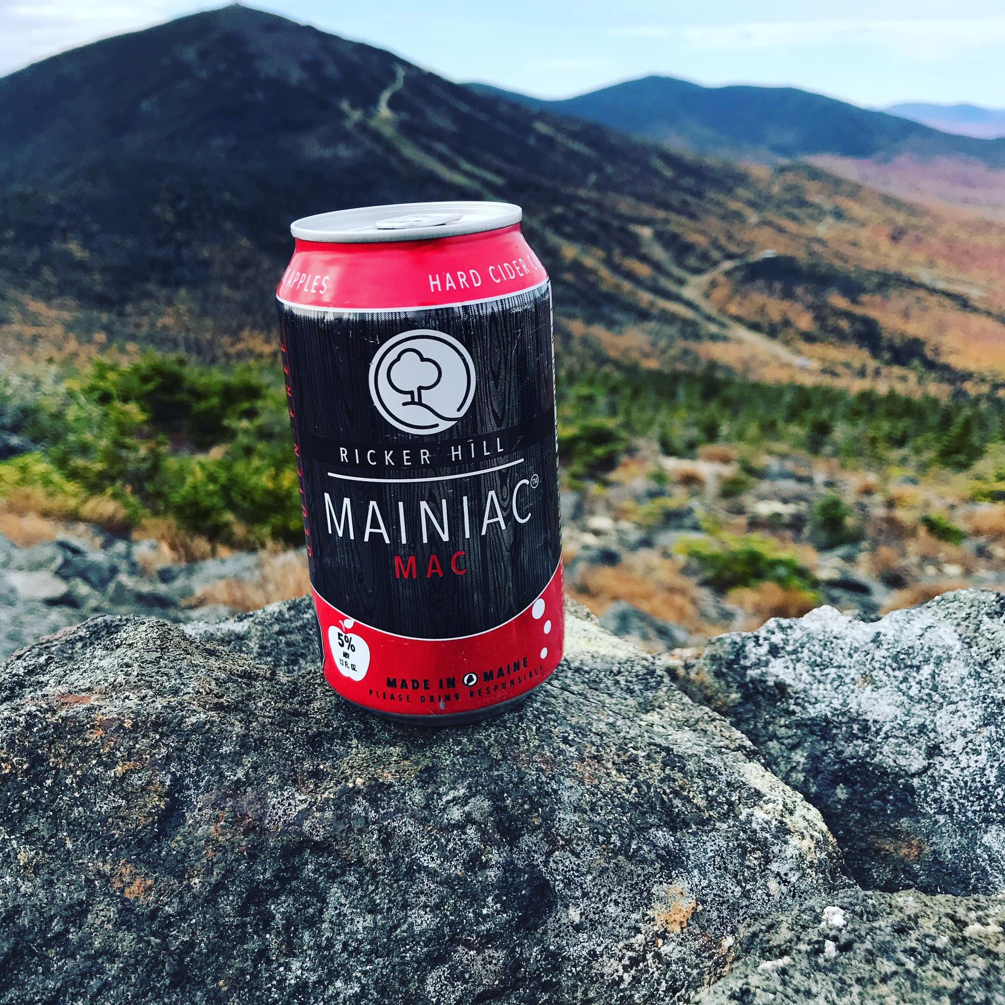 Ricker Hill Mainiac Mac Hard Cider