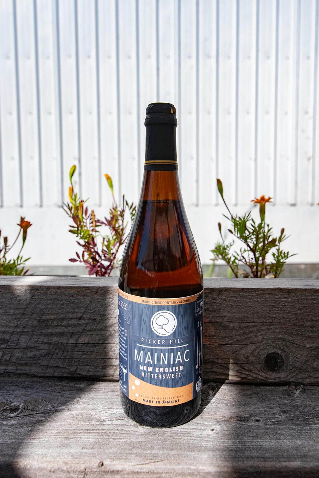 Ricker Hill Mainiac New English Bittersweet hard cider