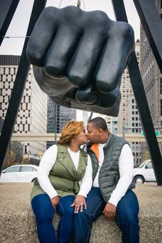 Detroit Engagement Photographer