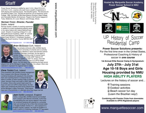 Soccer Pamphlet