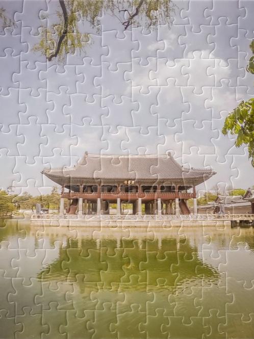 South Korea Gyeong-Hoeru Pavilion Puzzle