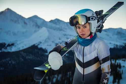 Alpine Skiing Senior Photos