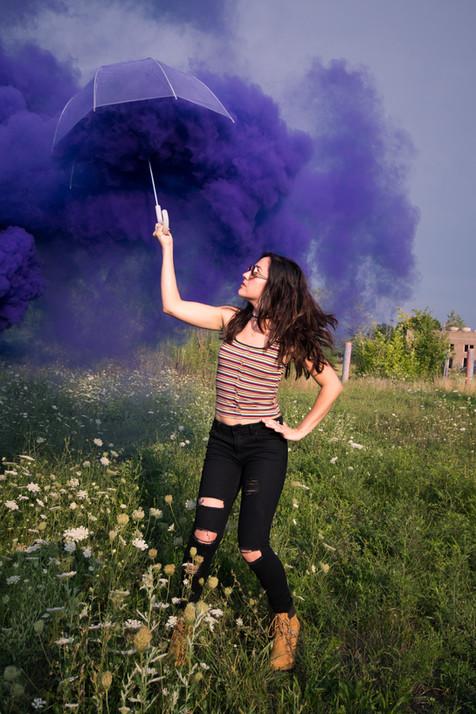 Smoke Bomb Portraits