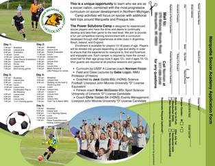 Soccer Pamphlet Inside