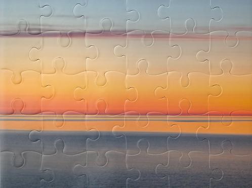 Lake Superior Sunrise Puzzle