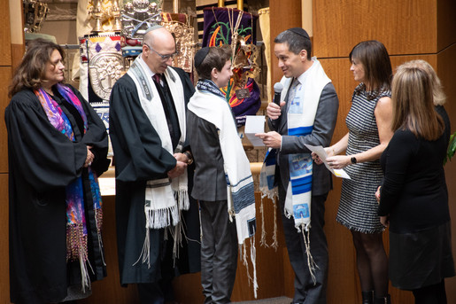 Bar Mitzvah Ceremony Photography