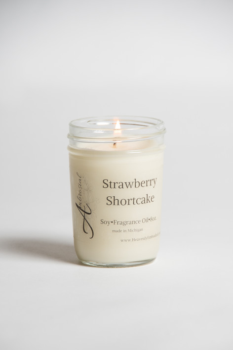 Product Candle Photography