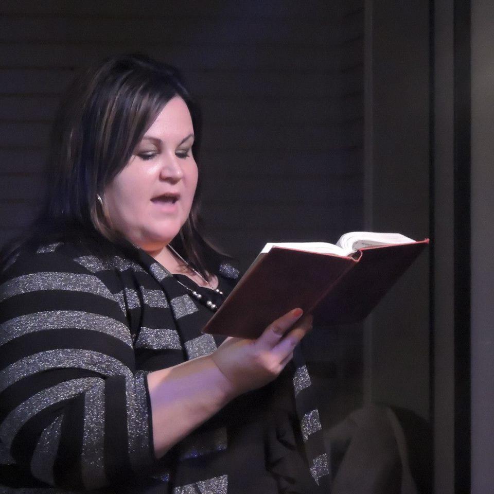 Pastor Jennifer Ministering