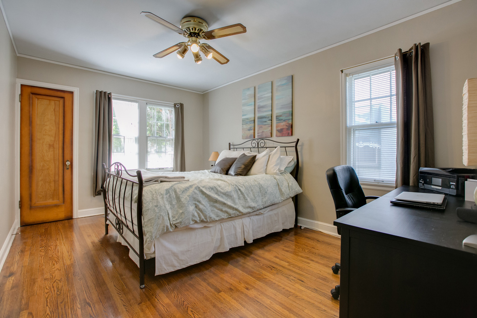 Bedroom 1, main level