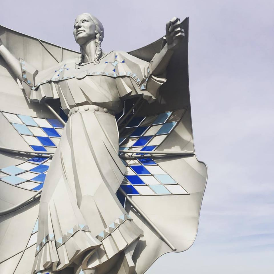 SUPER inspired by the passion that brought Dignity to South Dakota. No cure for centuries of heartache, That's for sure. Yet the beauty of her spirit stands for love and understanding for Native Americans, in a place where they sure don't get much love. I hope that stands for something.