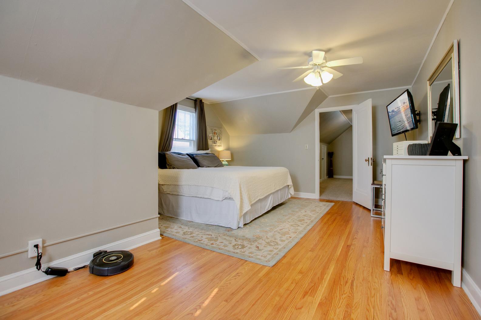 2nd level master bedroom