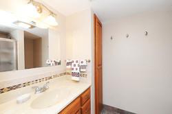 30.  Lower level bathroom
