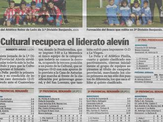Los Benjamines salen hoy en Diario de León