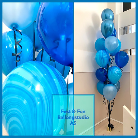 Bouquets and balloon compositions