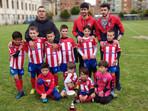 Campeón de Liga, prebenjamines 2018-2019. ¡Enhorabuena,padres,entrenadores,jugadores!
