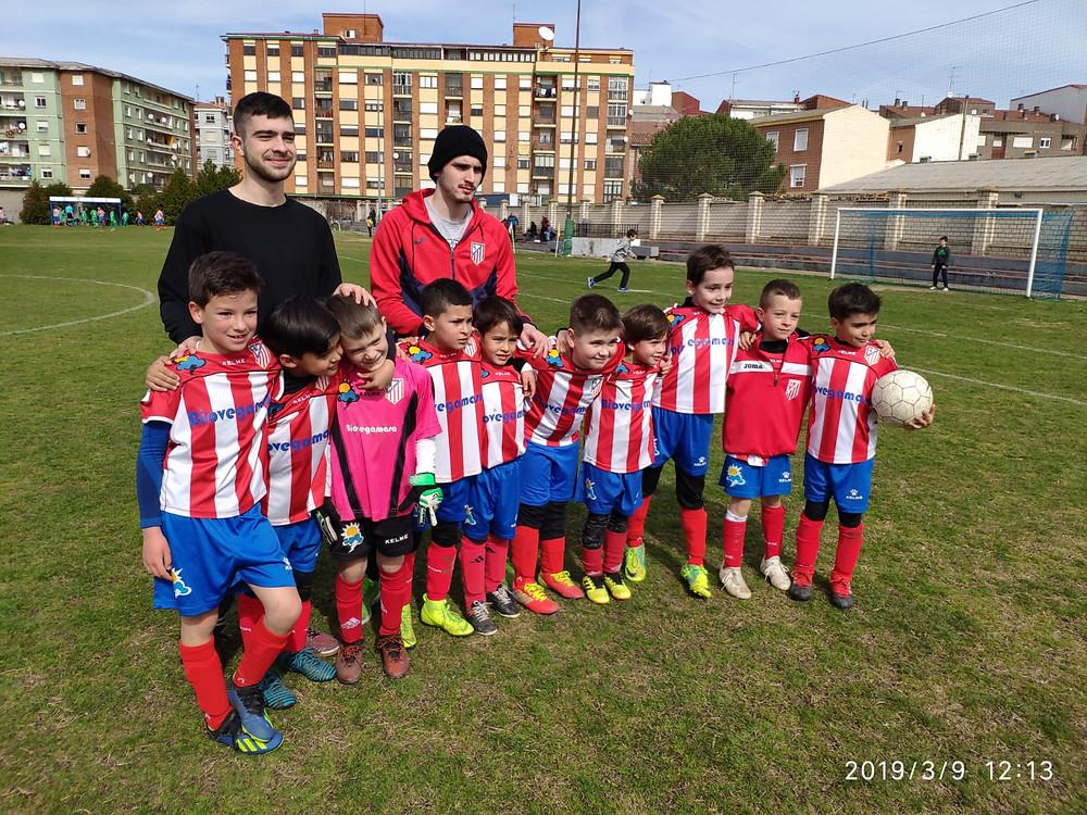 Nueva victoria de prebenjamines el pasado sábado.Goles de Hector, Darío, Rayan, Luis, Pablo Ruben, y Jesús.