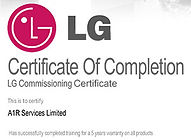 LG Partner with 5 Years Warranty
