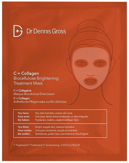 C+ Collagen Biocellulose Brightening Treatment Mask