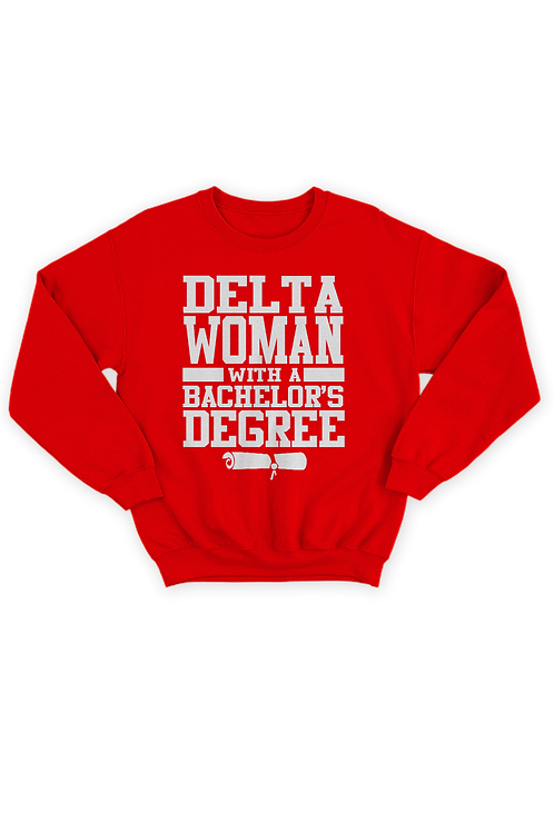 "Delta ""Degree"" Sweatshirt"