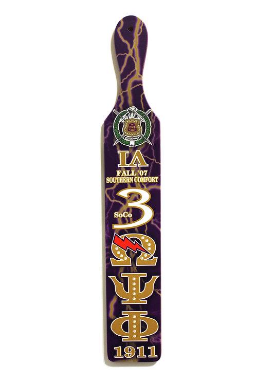 Omega Psi Phi Paddle (Custom)