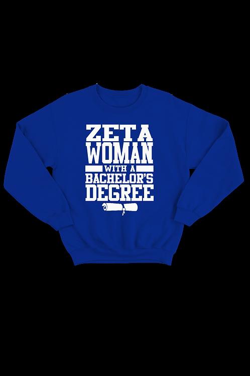 "Zeta ""Degree"" Sweatshirt"