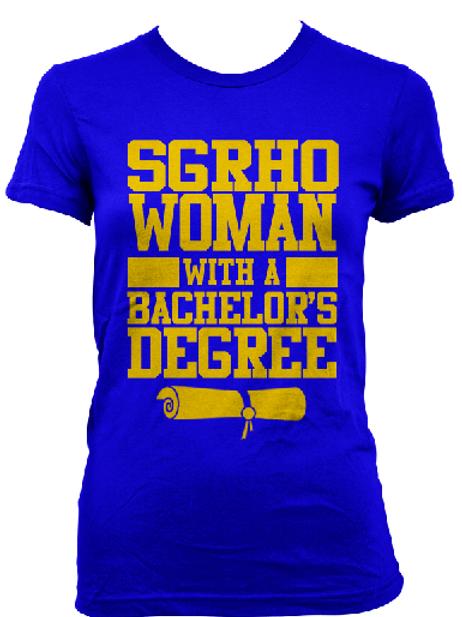 """SGRho """"Degree"""" Shirt"""