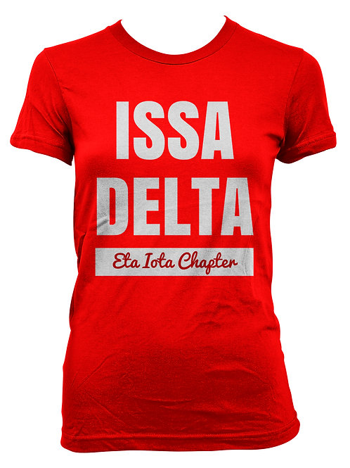 """ISSA Delta"" Chapter Shirt (Package of 8)"