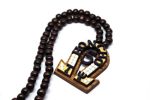 Omega 'Name' Necklace (Custom Gold)