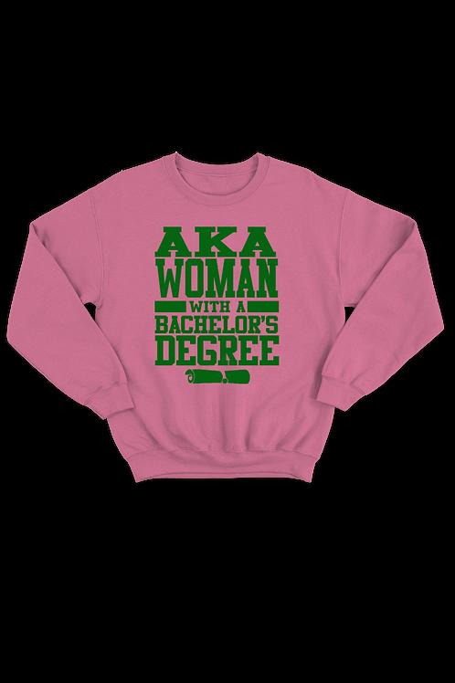 "AKA ""Degree"" Sweatshirt"