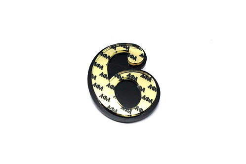 Alpha Line Number Pin