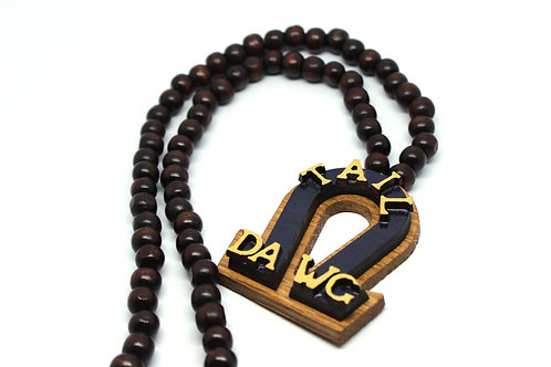 Omega 'Tail Dawg' Necklace