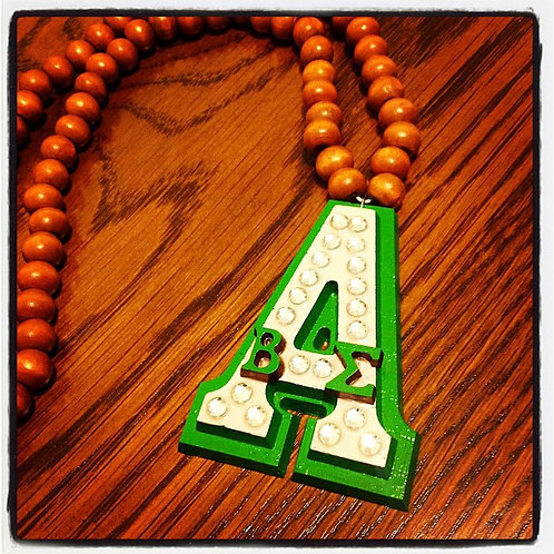 AKA 'Rep Yo Chapter' Necklace (Custom)