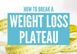 Busting Through the Dreaded Weight Loss Plateau