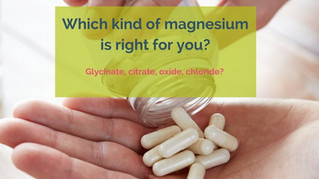 Deficiency to Sufficiency – Magnesium