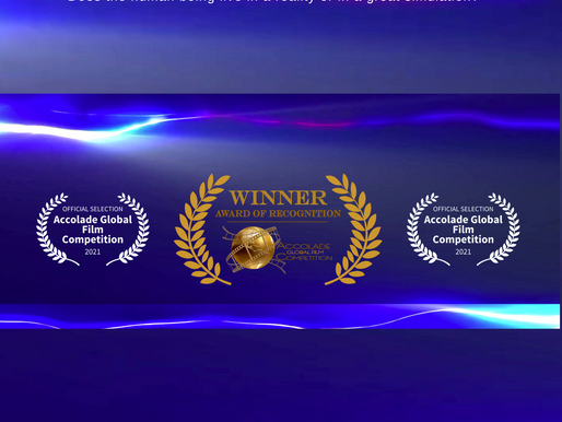 Melanie Belmonte Wins Award in Accolade Global Film Competition