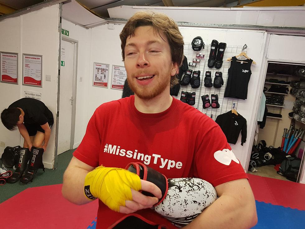 Kickboxing class ready to start