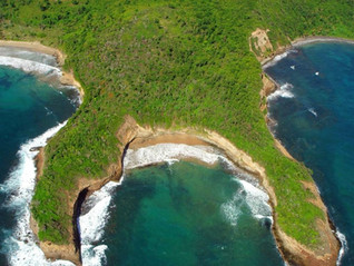 Aerial view Petite Goualasse