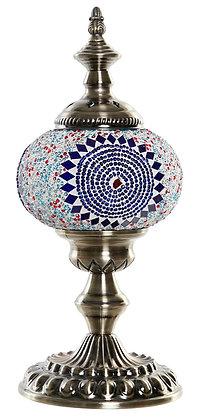 LAMPE MOSAIQUE 15X15X36
