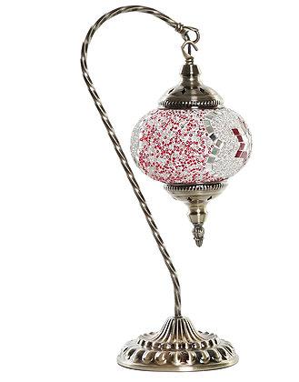 GRANDE LAMPE MOSAIQUE 21X15X46