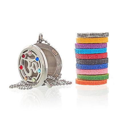 Collier diffuseur de parfum chakra