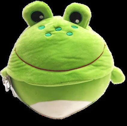 Peluche réversible grenouille et....