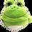 Thumbnail: Peluche réversible grenouille et....