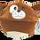 Thumbnail: Peluche réversible chien et....