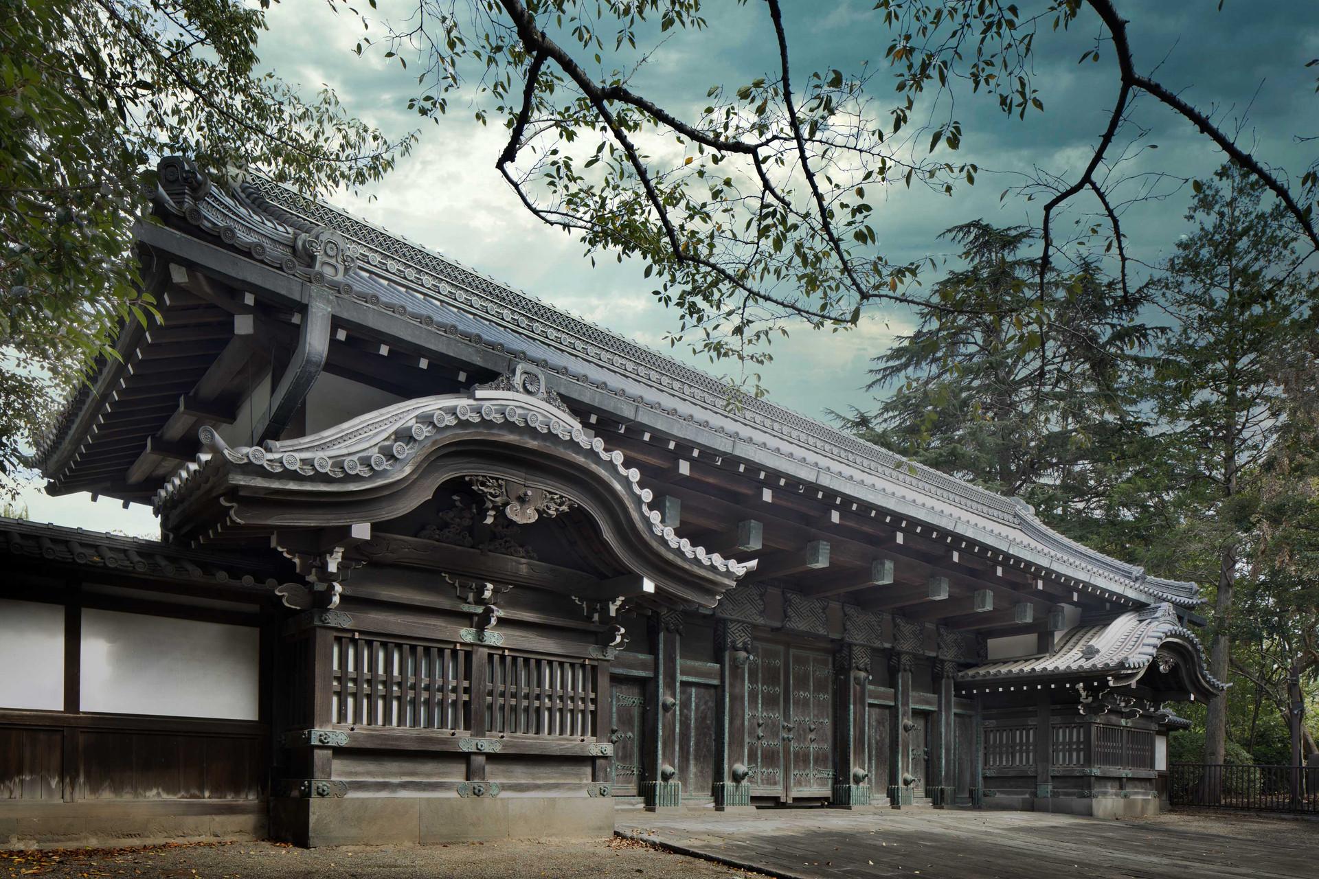 Kuromon Gate of the Inshu-Ikeda Residence