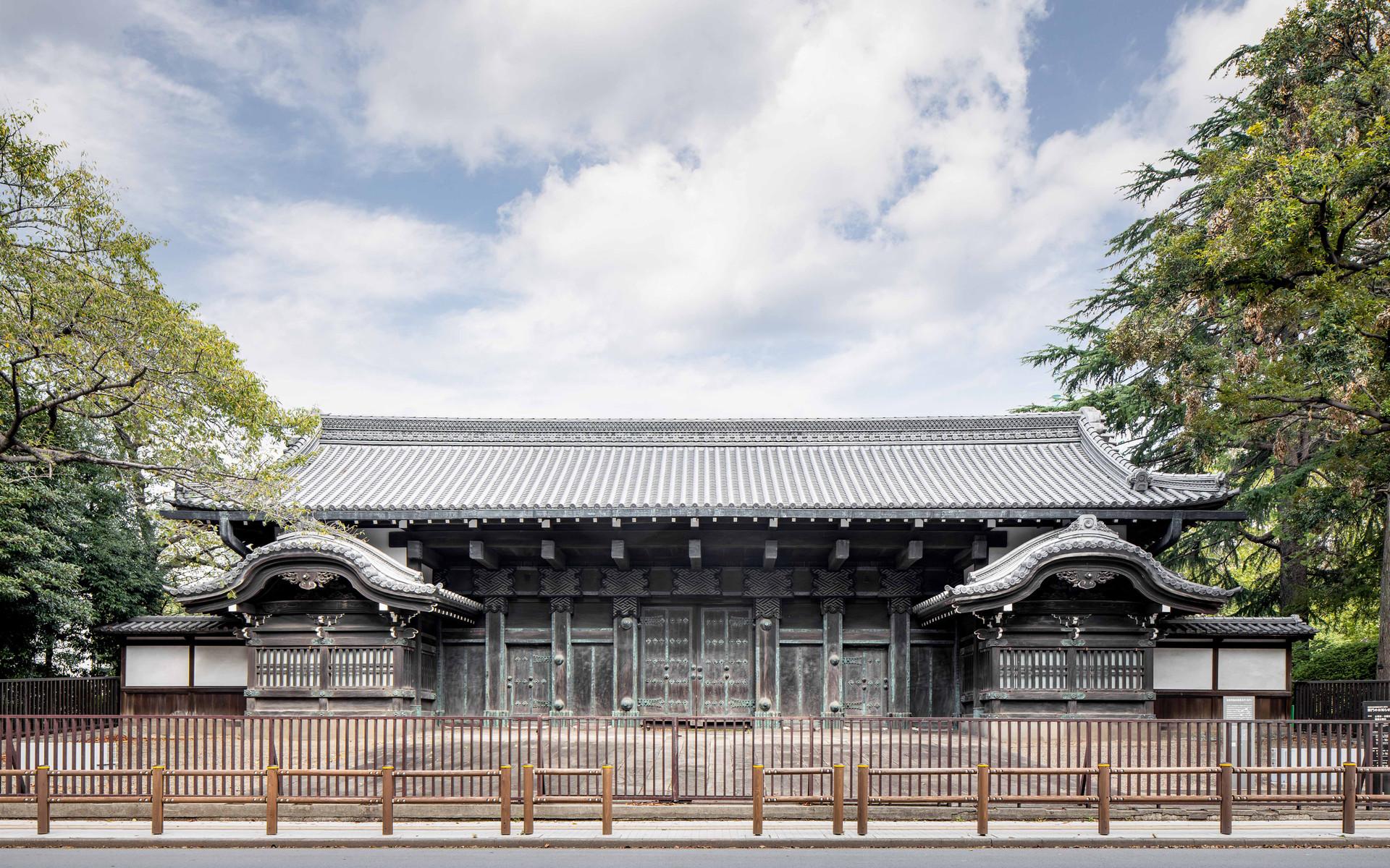 Kuromon Gate of the Inshu-Ikeda Residence, Tokyo